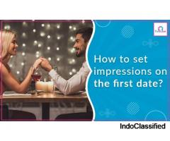 How to set impressions on the first date?
