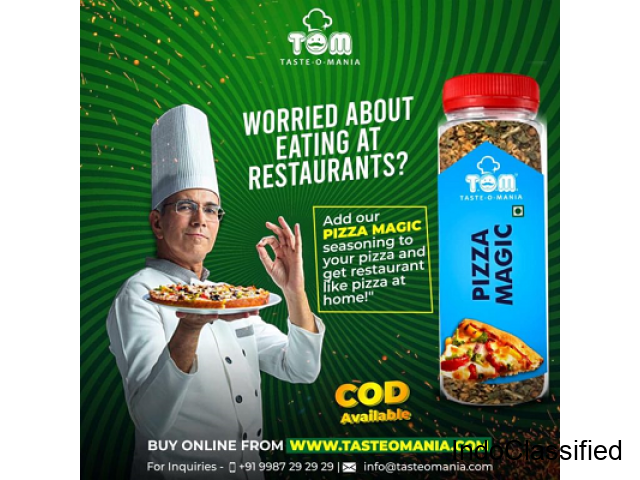 Pizza Spices Trader and Dealers in Mumbai - Taste-O-Mania