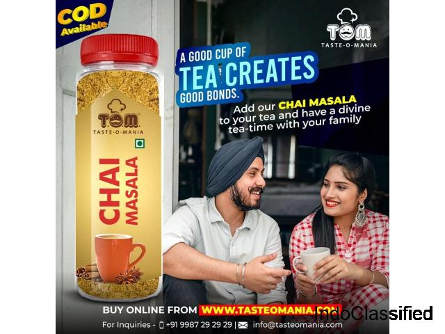 Chai Masala Wholesalers in Hyderabad - Taste-O-Mania