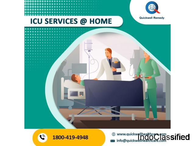 ICU Services at your door steps
