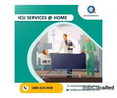 ICU Services at your door steps