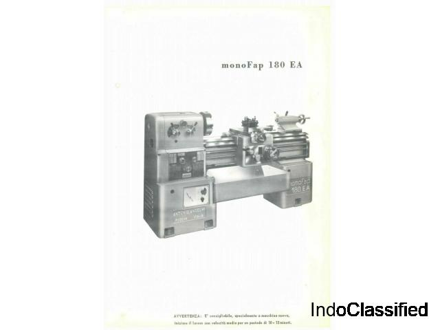 Anselmi Monofap 180 EA user manual PDF