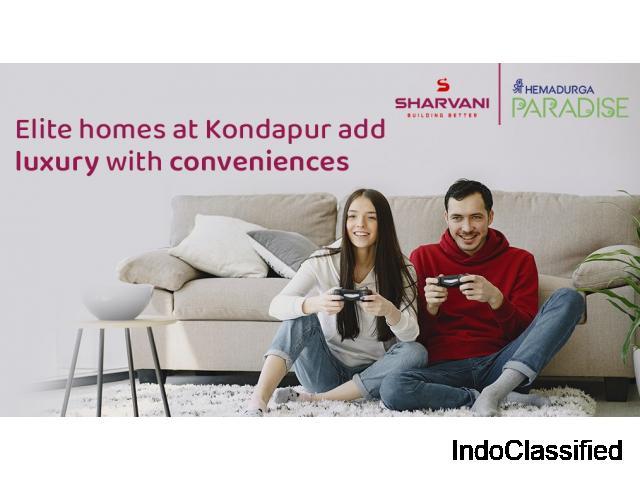 Flats for sale near kondapur