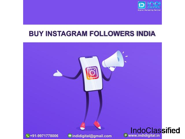 How to buy instagram followers india