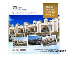 SAGE Heritage | 4 BHk Bungalow in e8 Arera Colony