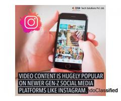 Video content is hugely popular on newer gen-z social media platforms like instagram