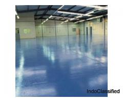 Epoxy paint is an excellent choice for covering garage