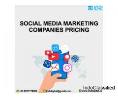Who are the best for social media marketing companies pricing