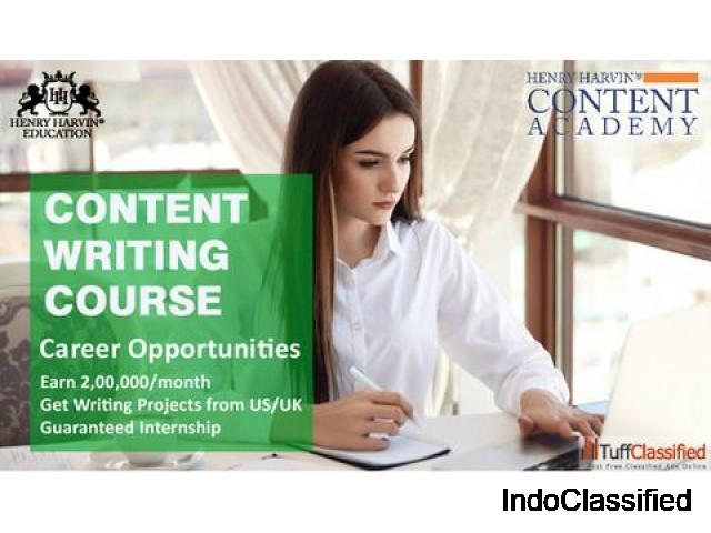 Benefits of Henry Harvin Content Writing Courses in Delhi