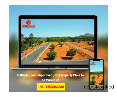 Gated community plotted layouts for sale in bangalore