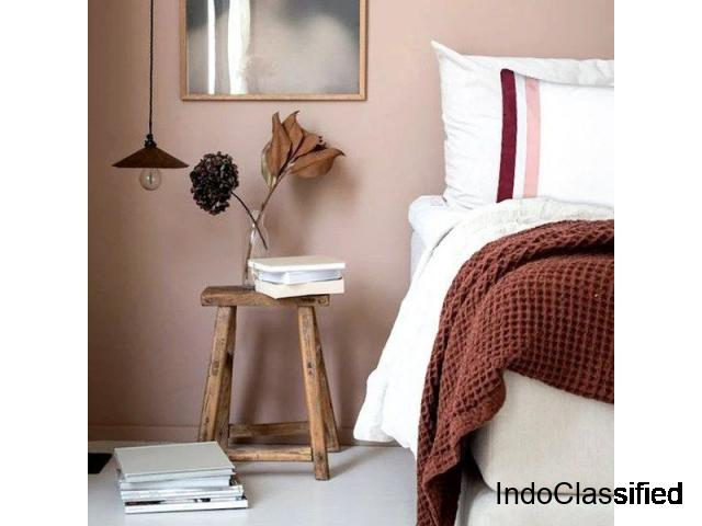 100% Pure Cotton Bed Sheets Sets, Made in India - Bedlam.Store
