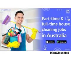 Part-time & full-time house cleaning jobs in Australia