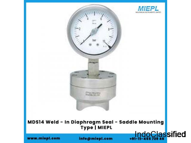 MDS14 Weld - In Diaphragm Seal - Saddle Mounting Type | MIEPL