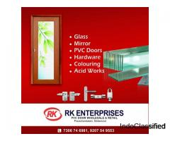 RK ENTERPRISES Pvc Door Wholesale Dealer Trivandrum Attingal Pravachambalam Mottamoodu
