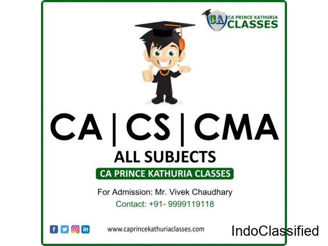 Best CA Coaching Institute In Faridabad - India