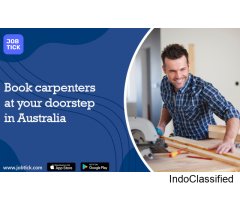 Book carpenters at your doorstep in Australia
