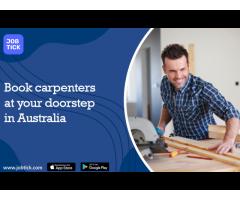 Book carpenters at your doorstep in Australia
