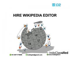 Find the best Wikipedia editor in India