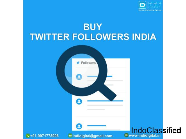Which is the best company to buy twitter followers in India