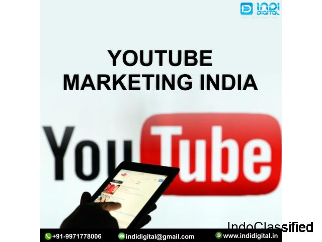 What is the best company for YouTube marketing service in India