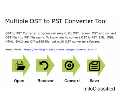 Recover OST & Export OST to PST By OST to PST Exporter