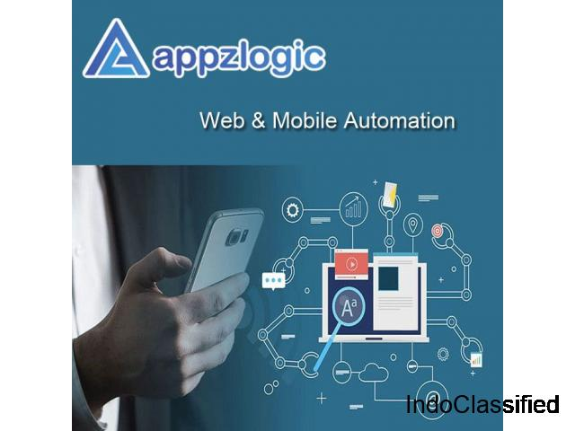 Mobile Testing Services & Company | Mobile Test Automation Services - Appzlogic
