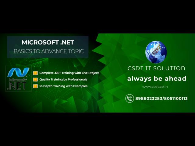 Top .Net Technologies Training Institute in patna