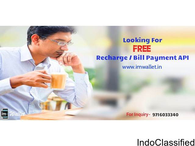 Mobile Recharge api by imwallet