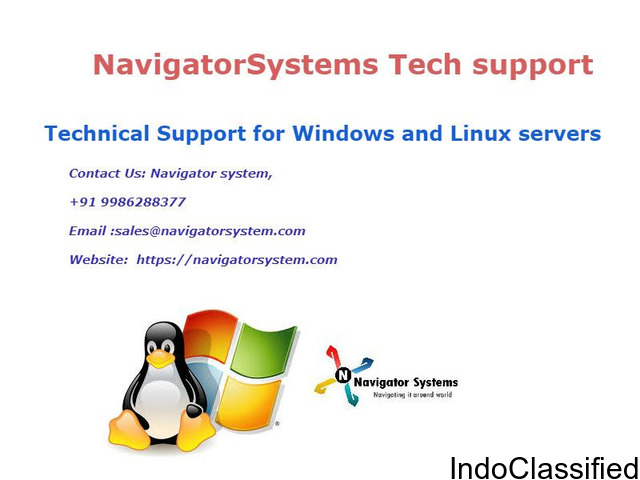 Technical Support for Windows and Linux servers