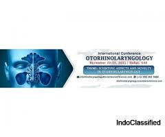 International Conference on Otorhinolaryngology