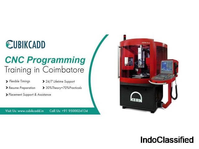 Best CNC Training Center in Coimbatore