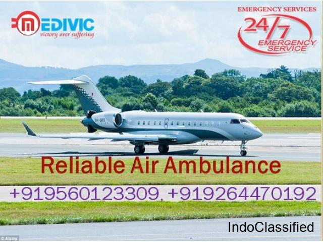 Book Masterly Air Ambulance Services in Ranchi with ICU by Medivic