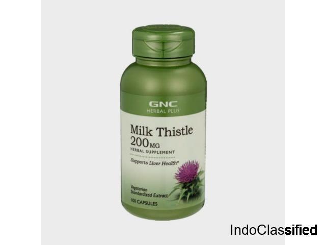 Best Gnc Milk Thistle 250mg | Best Milk Thistle In India - Buy Online Cureka