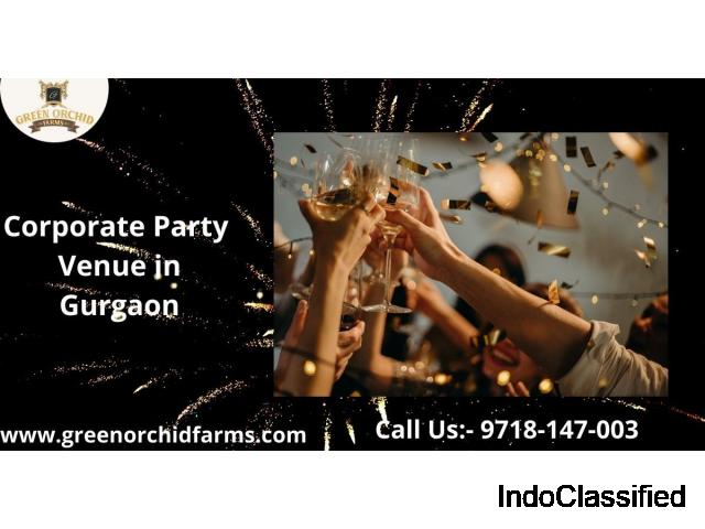 Corporate party with your office staff