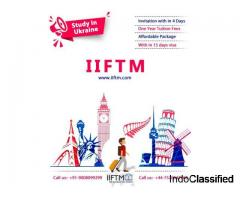 Study in ukraine | Study Visa and English language and culture program- IIFTM