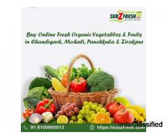 Online Fresh Fruits Chandigarh | Organic Vegetable Delivery Tricity | SubZfresh