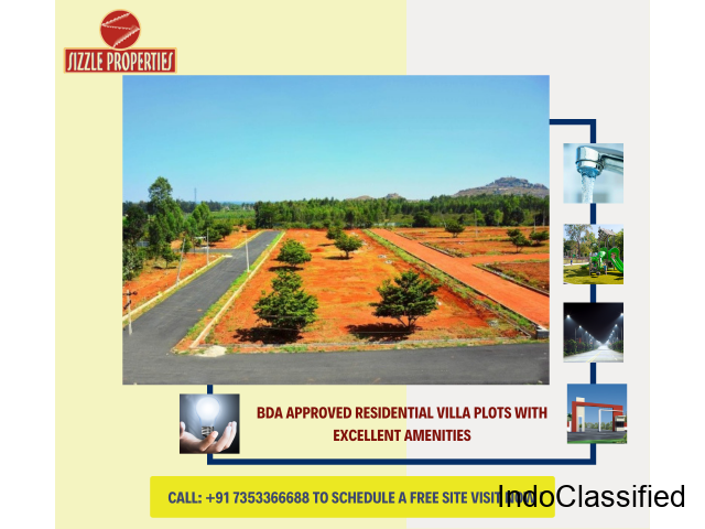 Open plots for sale in Bangalore - Loans Available