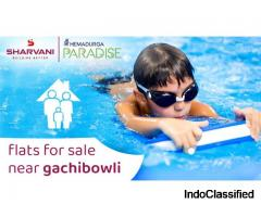 Best Flats for sale near Gachibowli, Hyderabad | Sharvani Ventures