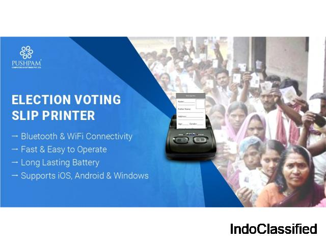 Election Voting Slip Printer
