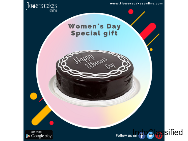 Send Women's Day Cakes India, Womens Day Cake Online