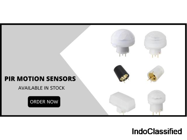 PIR motion sensors available in stock - 1