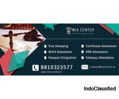 Documents Apostille Attestation in India, MEA Attestation in India