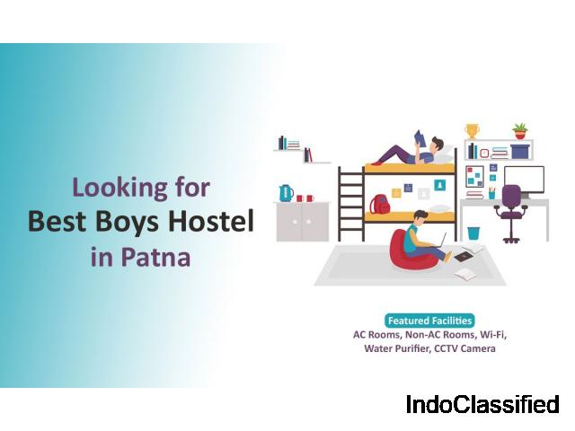 Best Boys Hostel in Patna | Hostel for Boys in Boring Road - 1