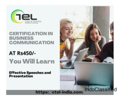 Certification In Business Communication