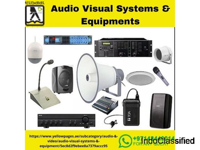 Audio Visual System Suppliers in UAE | AV Companies in Dubai