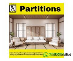 Room Dividers in Dubai | Office Partitioning | Partition in Dubai