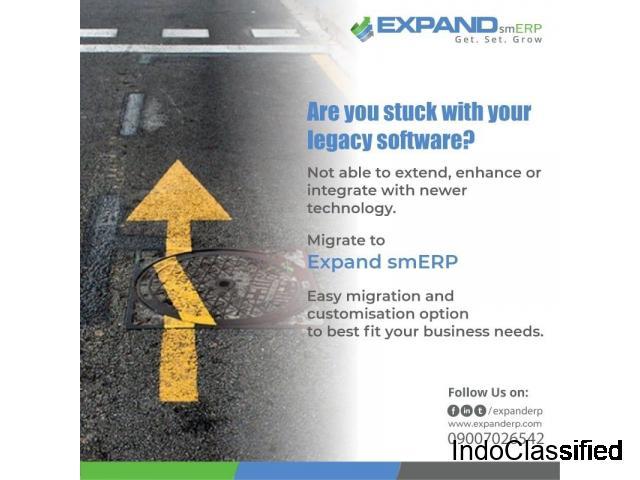Best ERP software India | EXPANDsmERP | Cloud ERP Software
