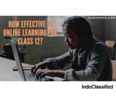 Online Learning For Class 12 Is Effective Or Not?