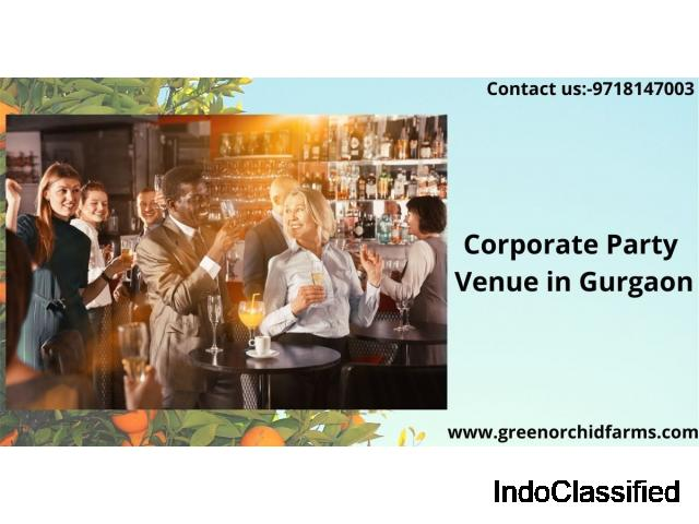 Why corporate party venue in gurgaon is important