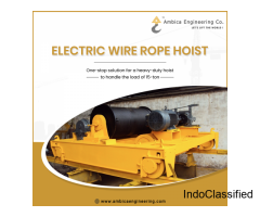Trusted Electric Wire Rope Hoist Manufacturer